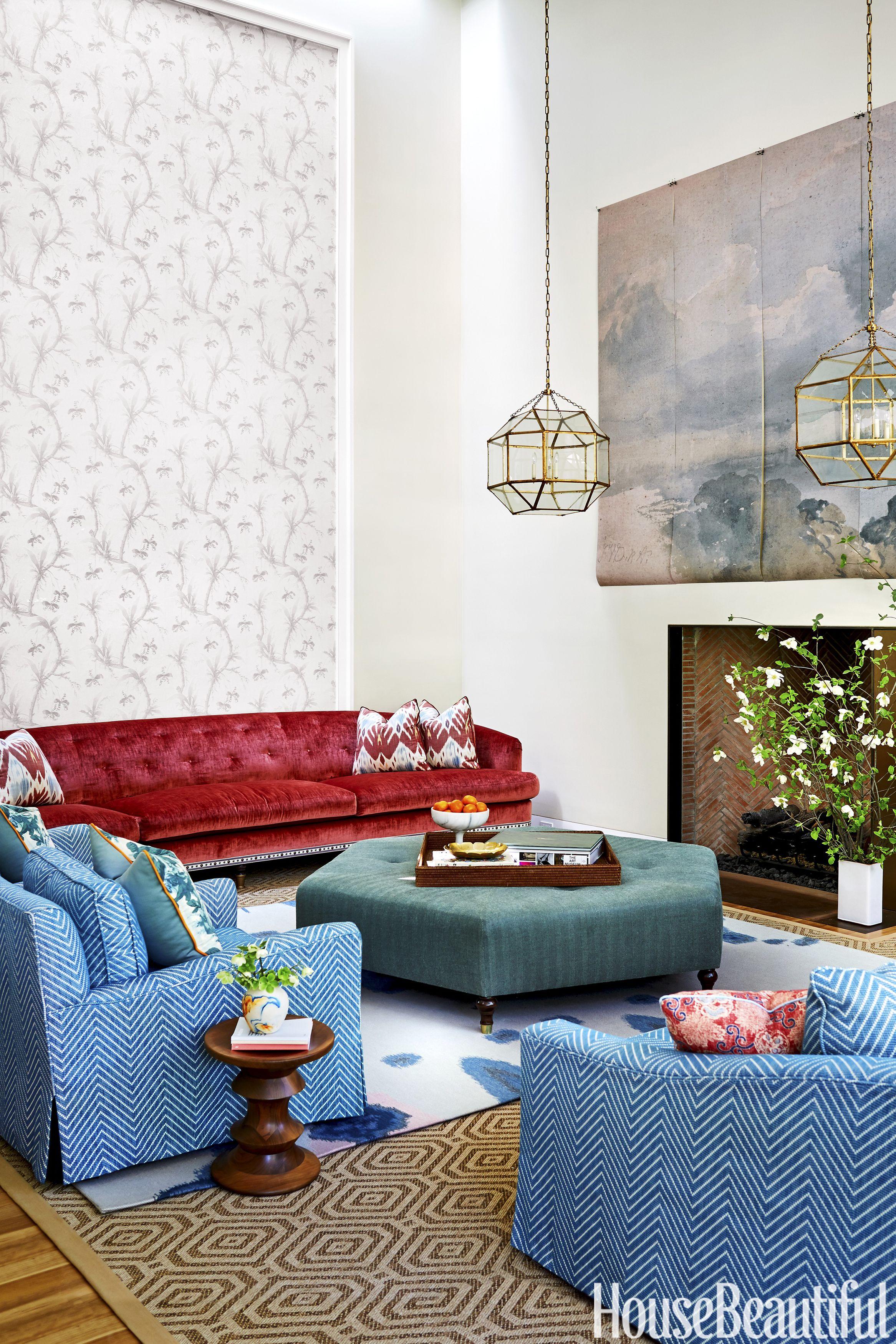 70 Best Living Room Decorating Ideas & Designs ... on Beautiful Room Decoration  id=43413
