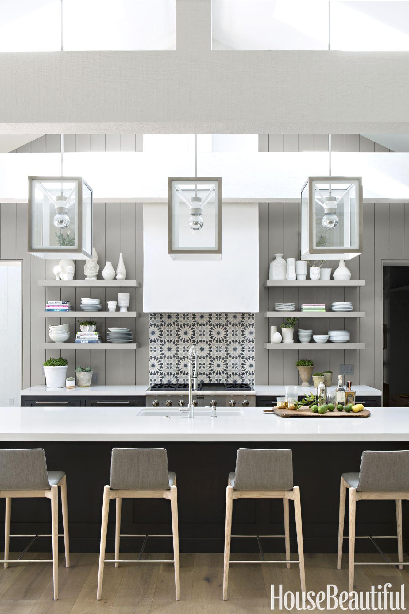 30 Best Kitchen Countertops Design Ideas - Types of ... on Kitchen Counter Decor Modern  id=64294