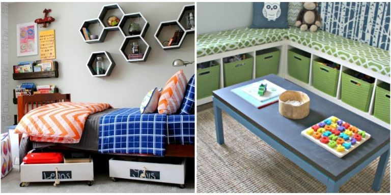 14 Genius Toy Storage Ideas For Your Kid's Room
