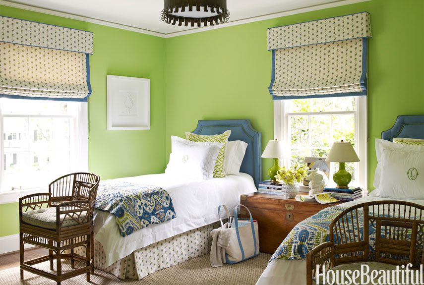 Your bedroom wall colors set the mood for the entire room. 28 Dreamy Green Bedrooms Best Decor Ideas For Green Bedroom