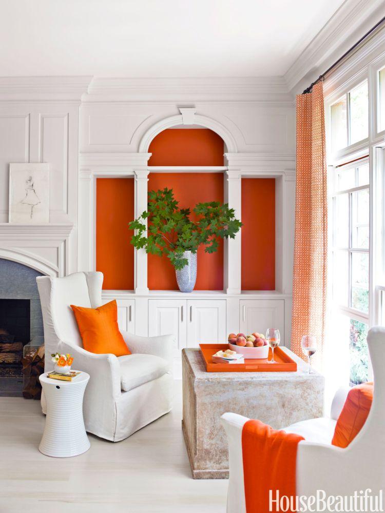 Orange And Black Rooms Orange And Black Decorating Ideas
