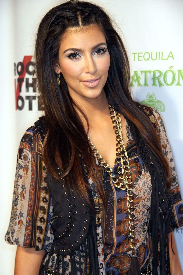 kim kardashian's makeup and hairstyles - kim kardashian