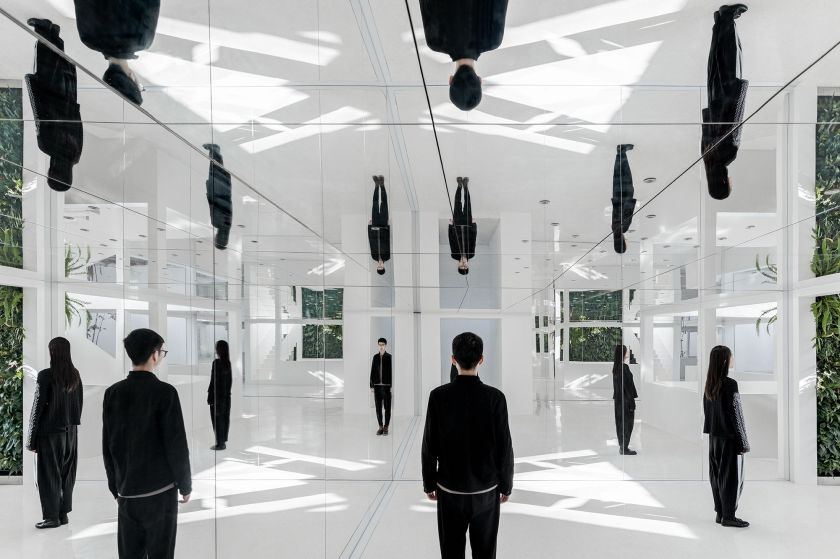 The Mirror Garden store in Beijing by Archstudio