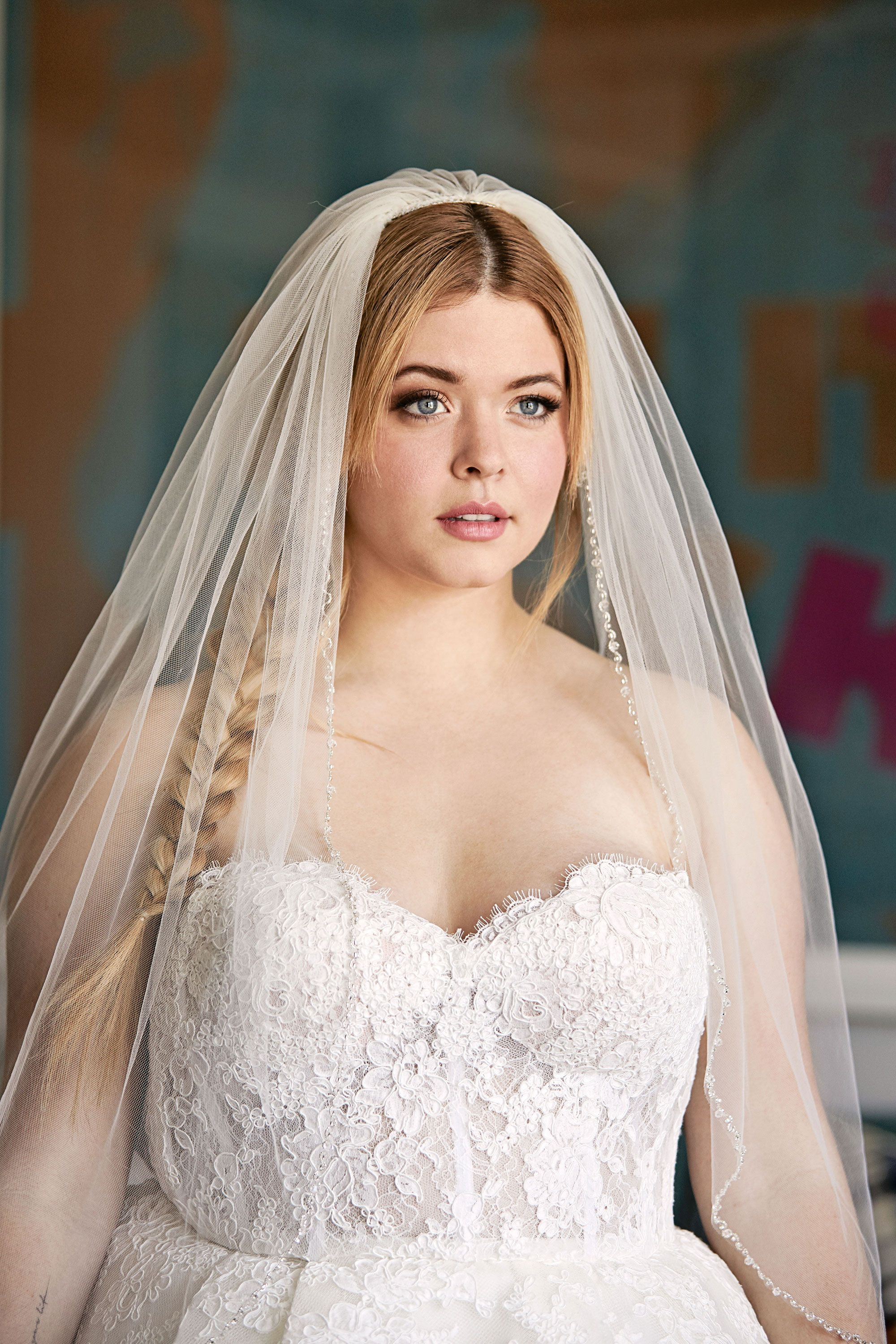 Pretty Little Liars Star Sasha Pieterse Tests 3 Wedding