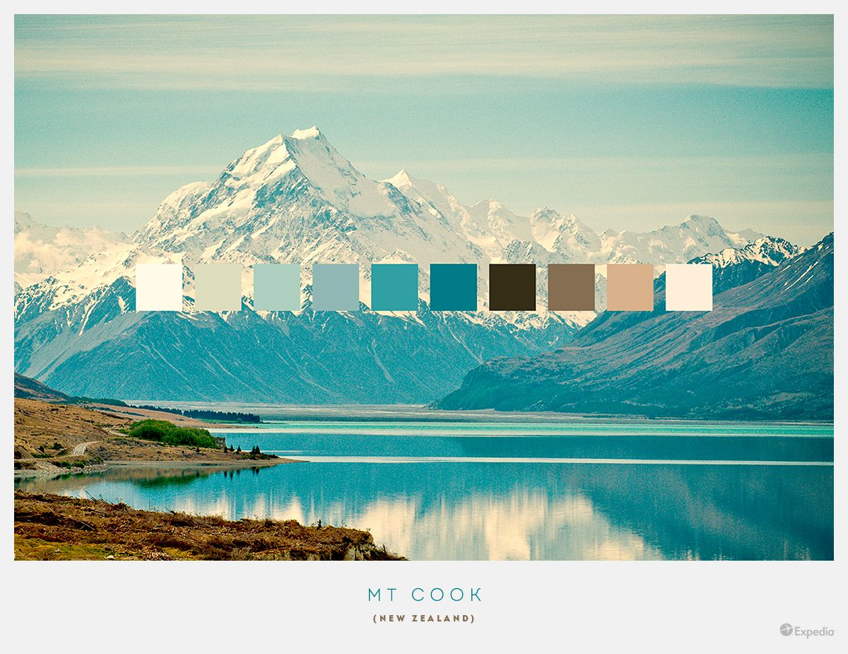 10 Beautiful Colour Palettes From The Most Stunning ...