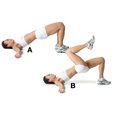 Image result for MARCHING GLUTE BRIDGE