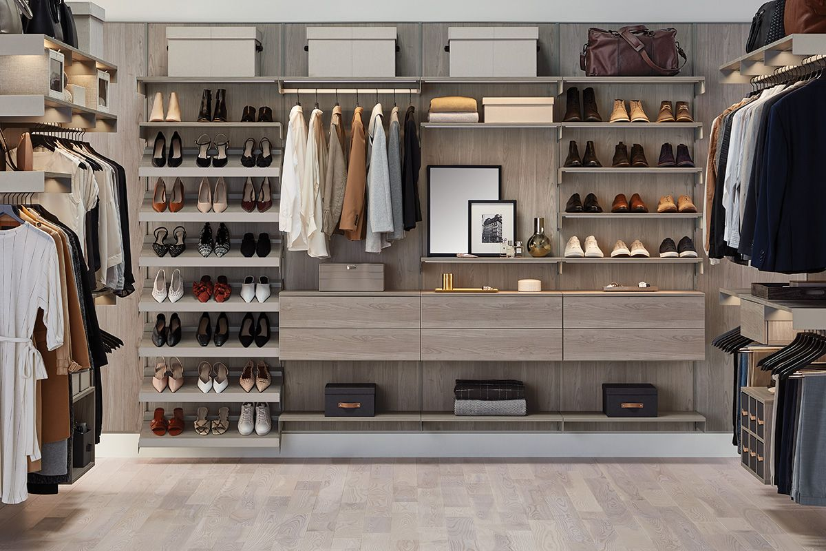The Container Store Launched Custom Closets Including New