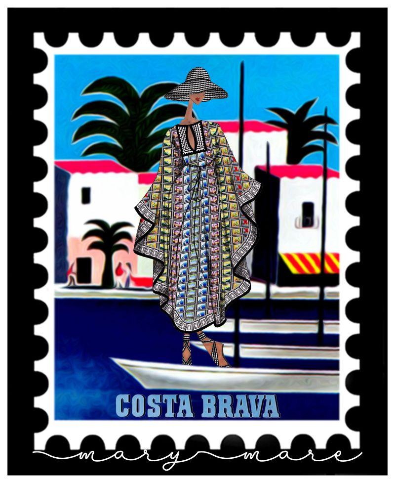 mary katrantzou postage stamp campaign