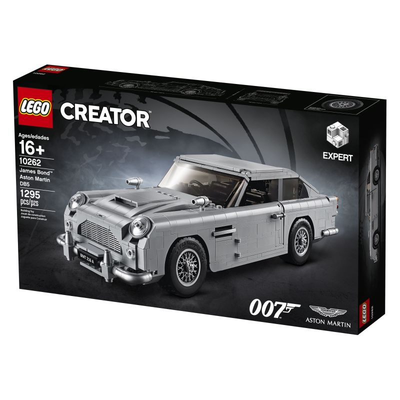 LEGO Is Making a James Bond Aston Martin DB5 Complete with Tire Slashers and Ejector Seat 2