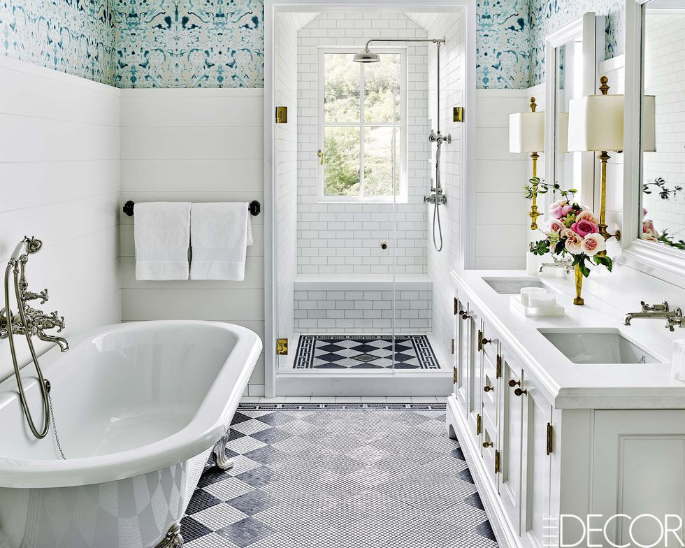 55 Small Bathroom Ideas - Best Designs & Decor for Small ... on Popular Bathroom Ideas  id=78903