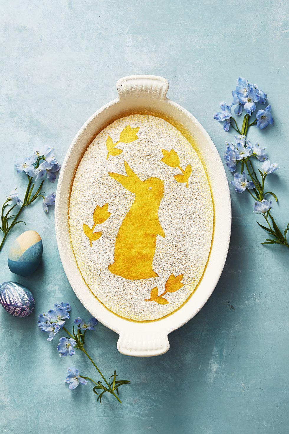Lemon bunny cake- easter cakes