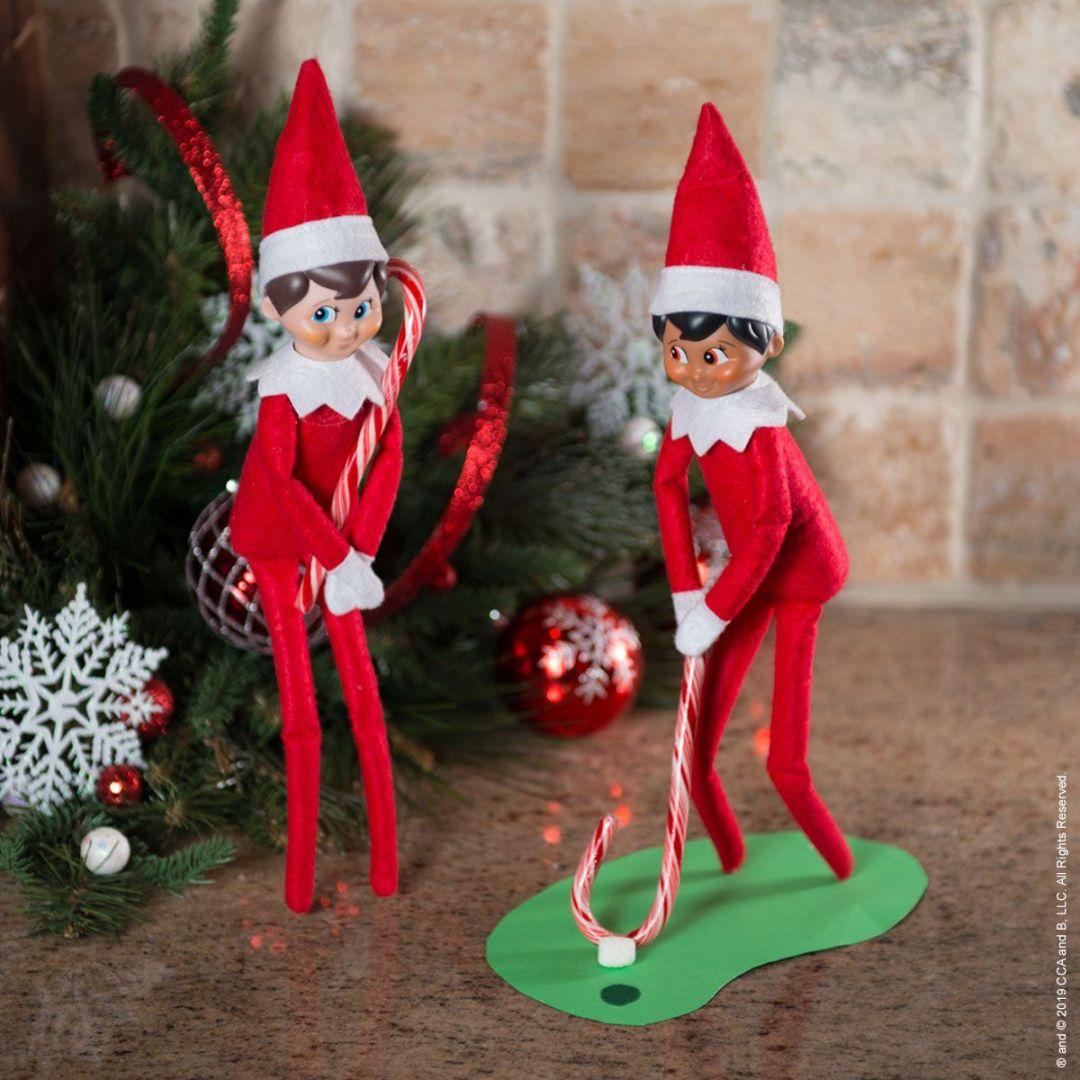 elf on the shelf golf