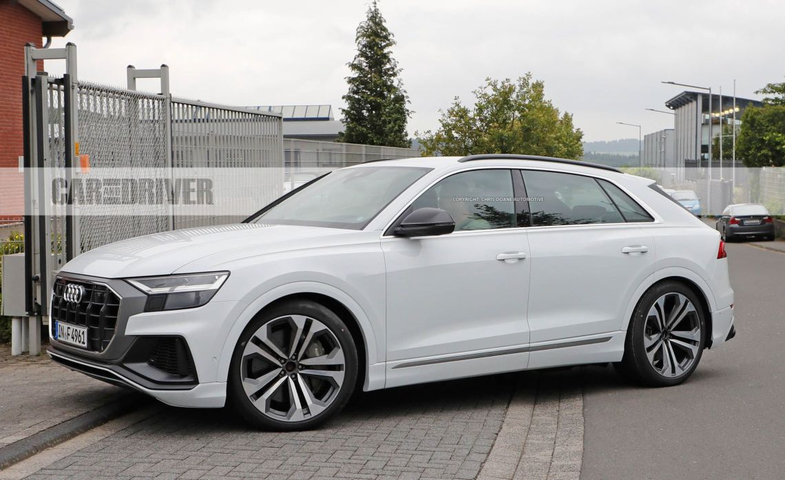 2019 audi sq8 spied uncovered: a sportier version of the sportier q7