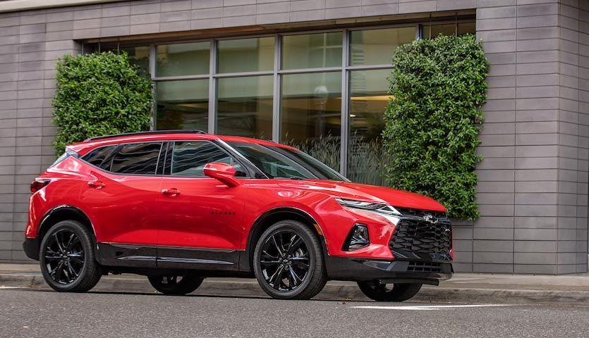 2019 Chevrolet Blazer Suv Trim Levels Pricing Build And Price