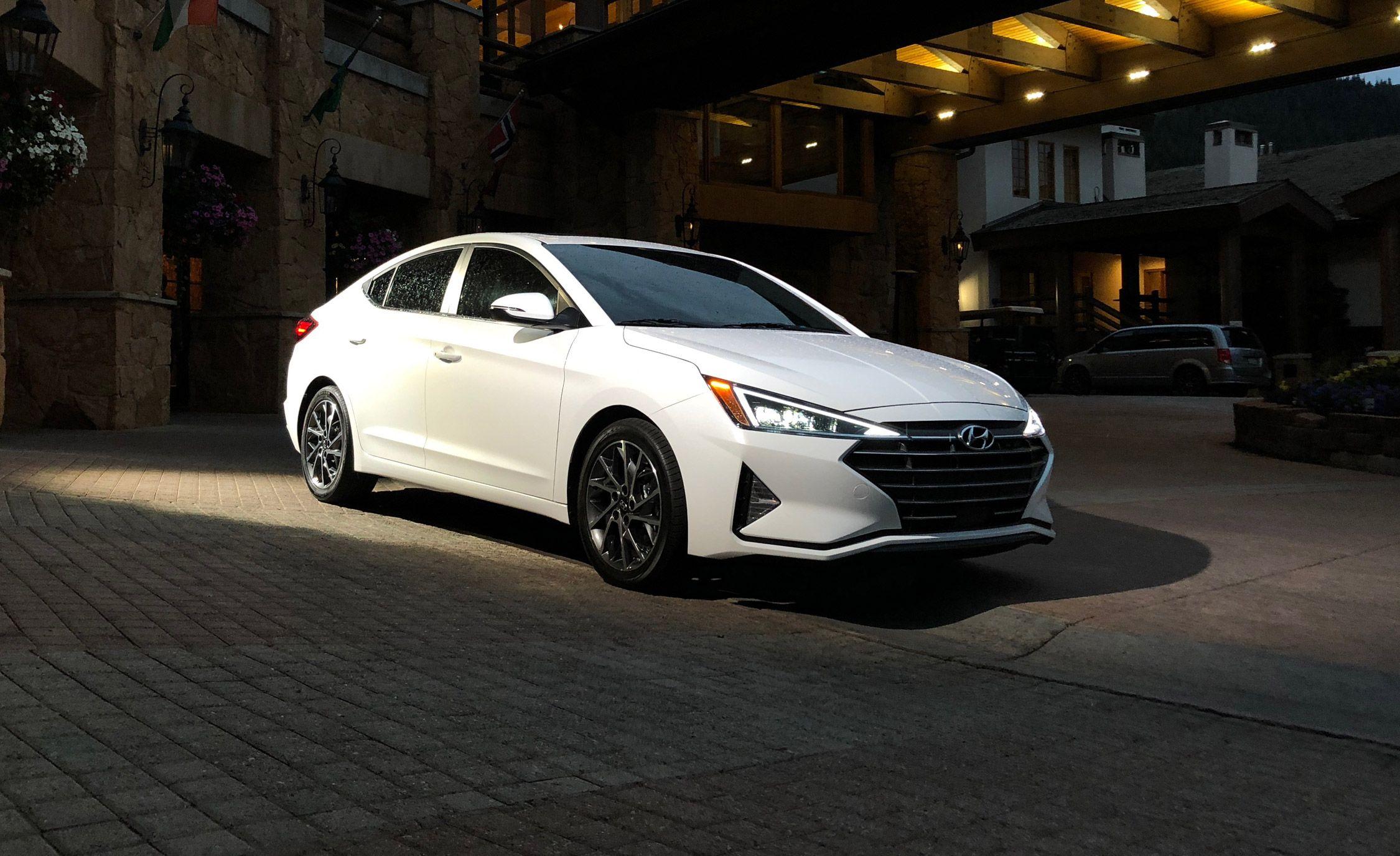 Refreshed 2019 Hyundai Elantra Sedan New Design More