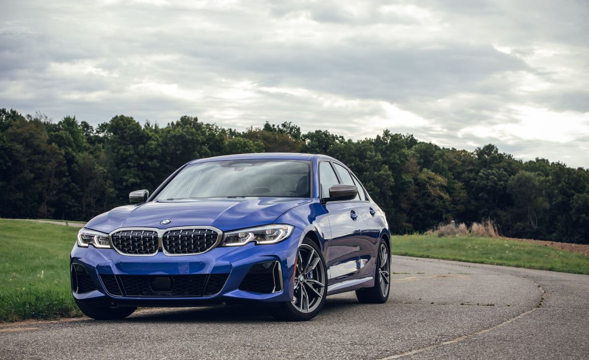 2020 bmw 3 series front