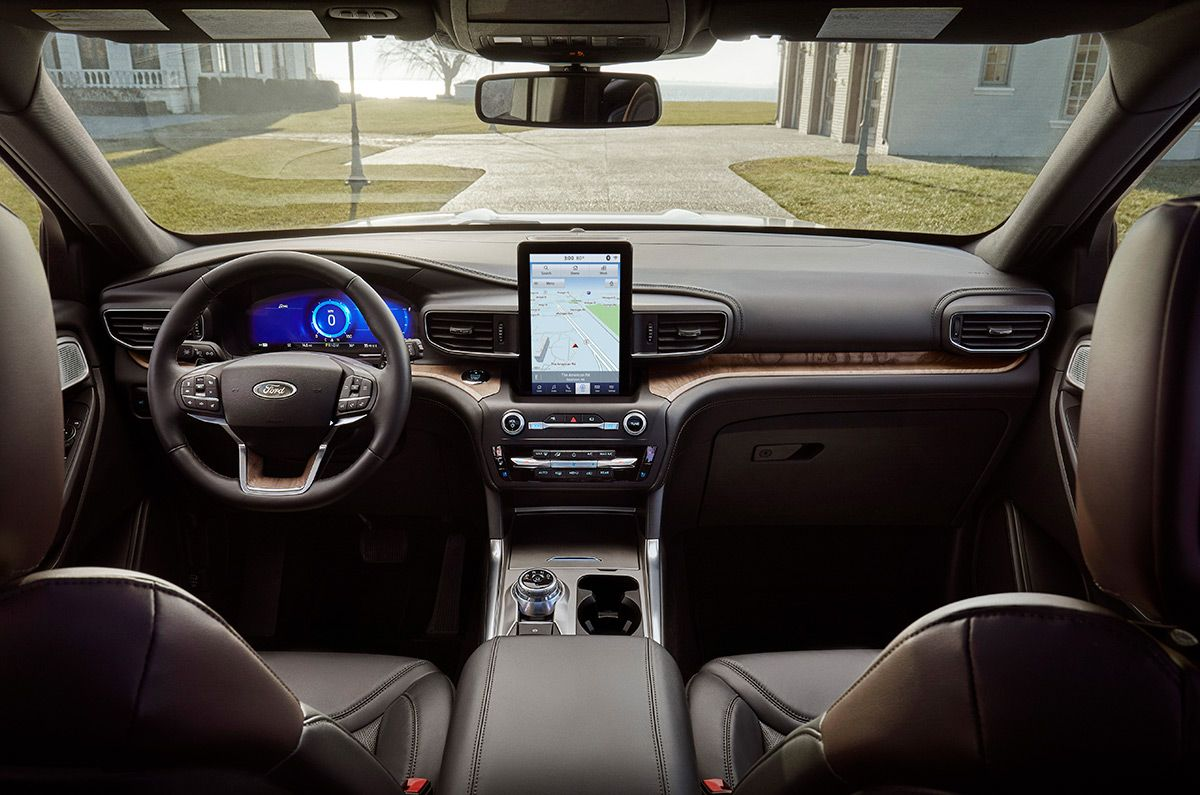 2020 Ford Explorer See The Giant Vertical Touchscreen