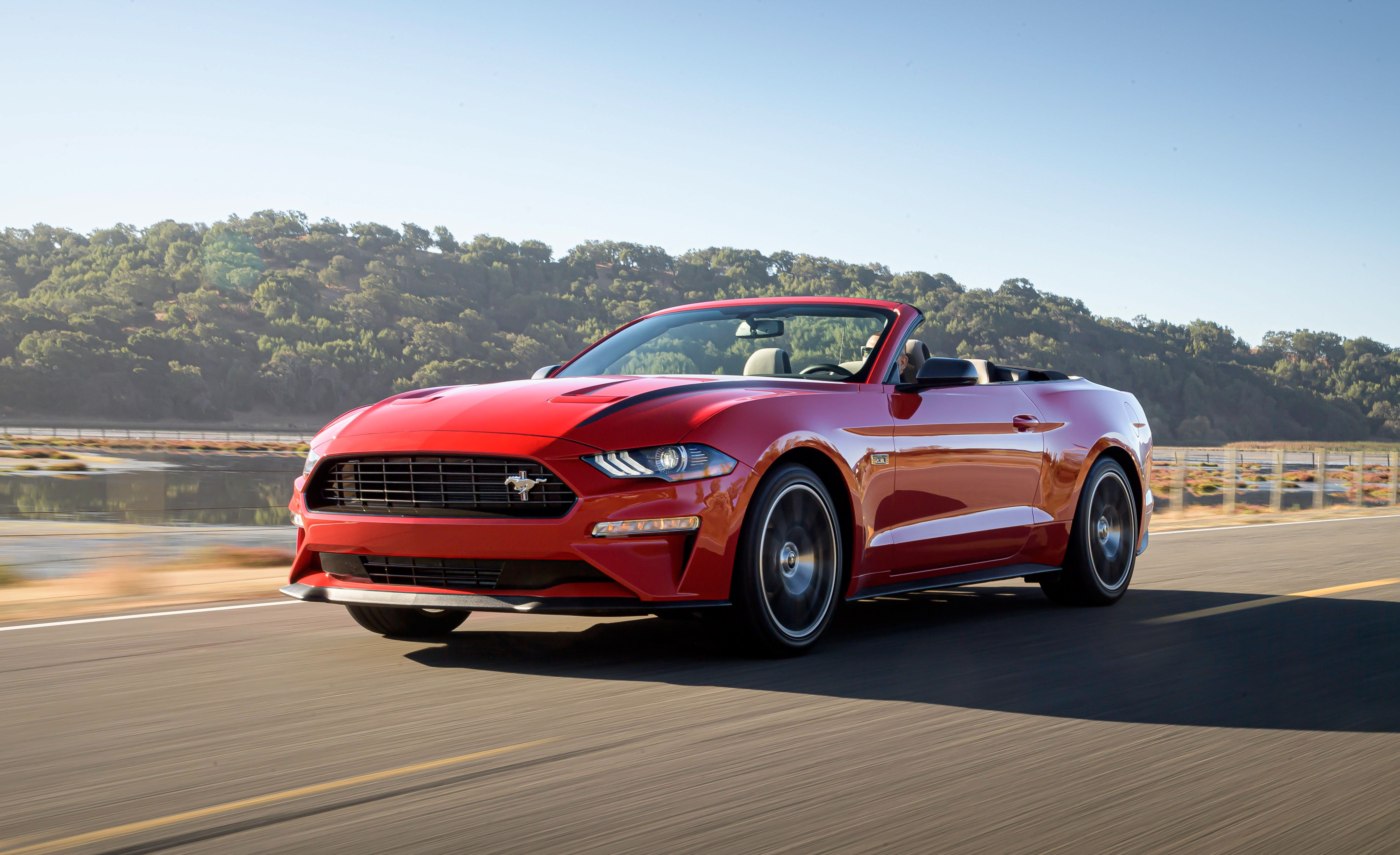 To get that kind of power out of the engine, the sports car is fitted with a cold air intake, an upgraded. 2020 Ford Mustang Review Pricing And Specs