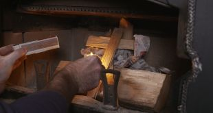 How to Light a Fire in Your Fireplace