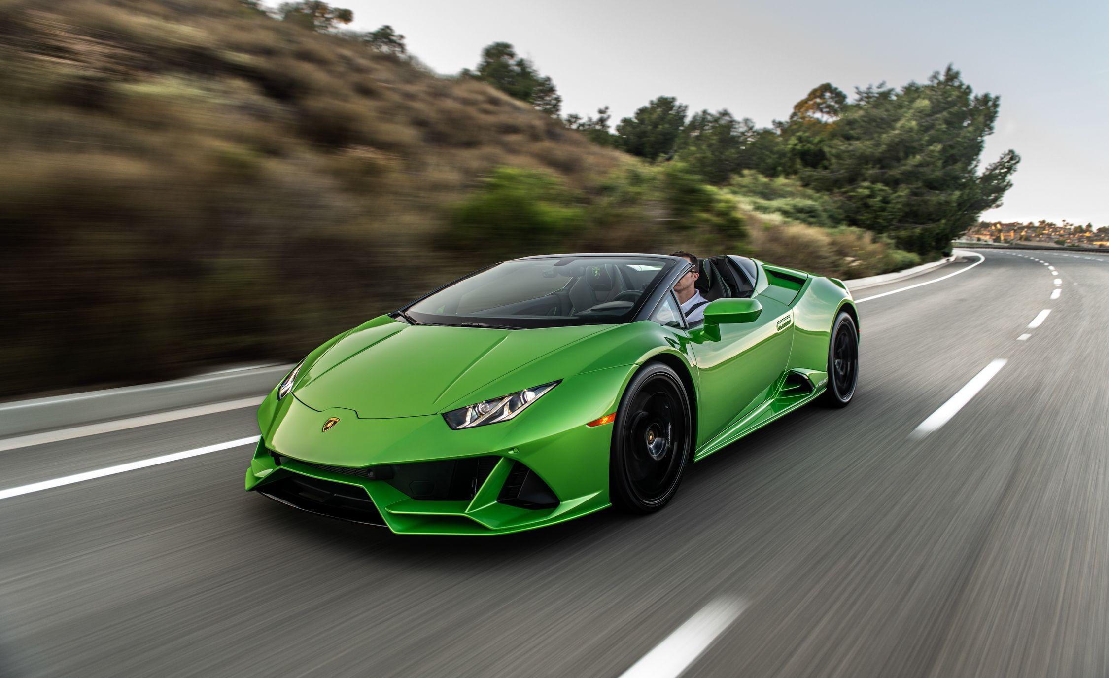 2020 Lamborghini Hurac 225 N Evo Spyder Is Pure Open Air Excess