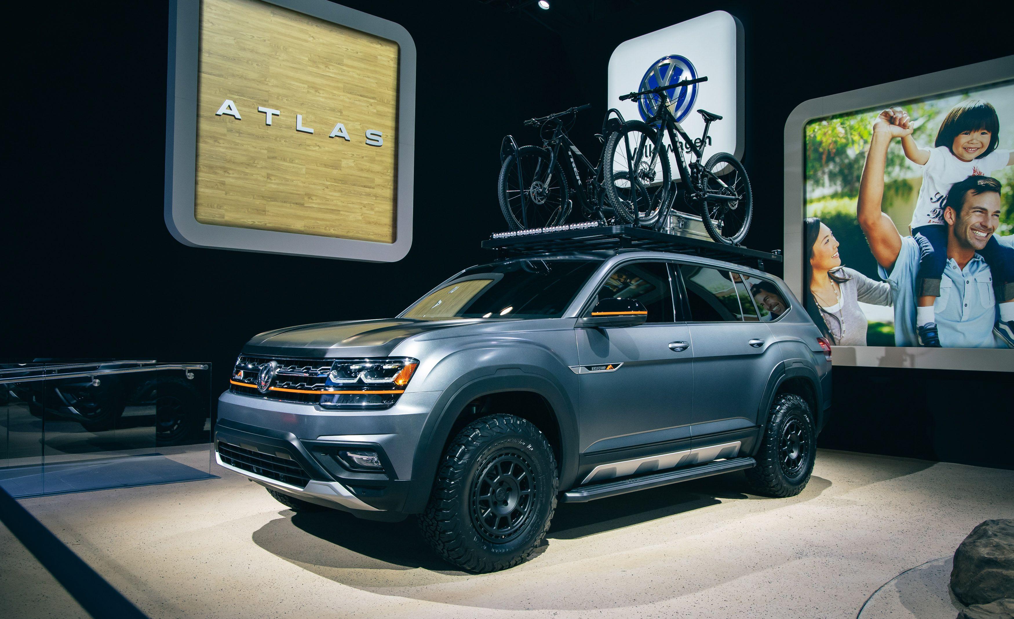 Volkswagen Atlas Basecamp Off Road Version Of Vw S Big Suv