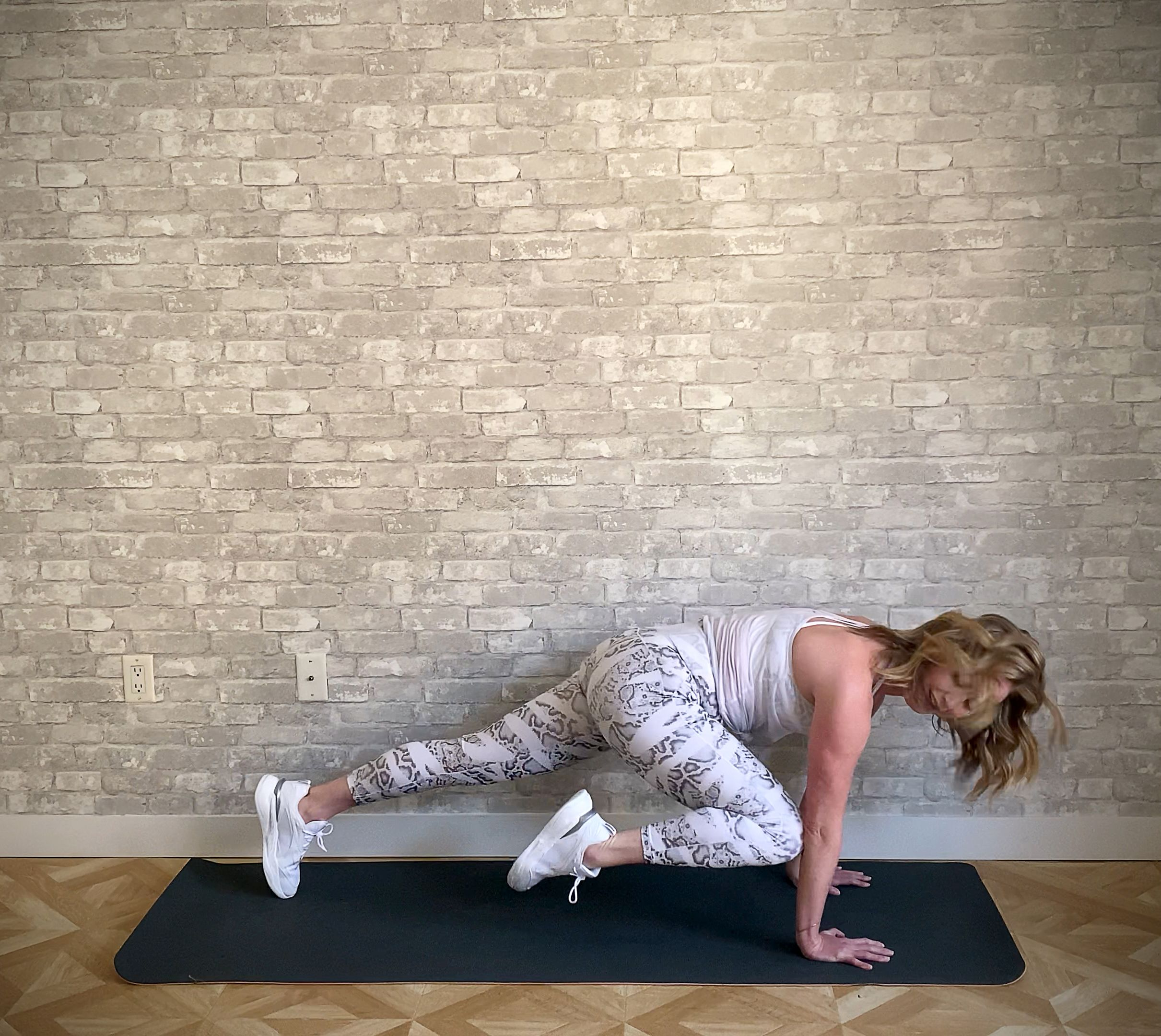 Just like mountain climbers, plank taps keep you in—you guessed it!—a plank. Mountain Climbers Mountain Climber Variations For Runners