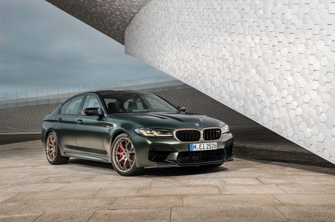 Voir les photos de la BMW M5 CS 2022 | zimo news