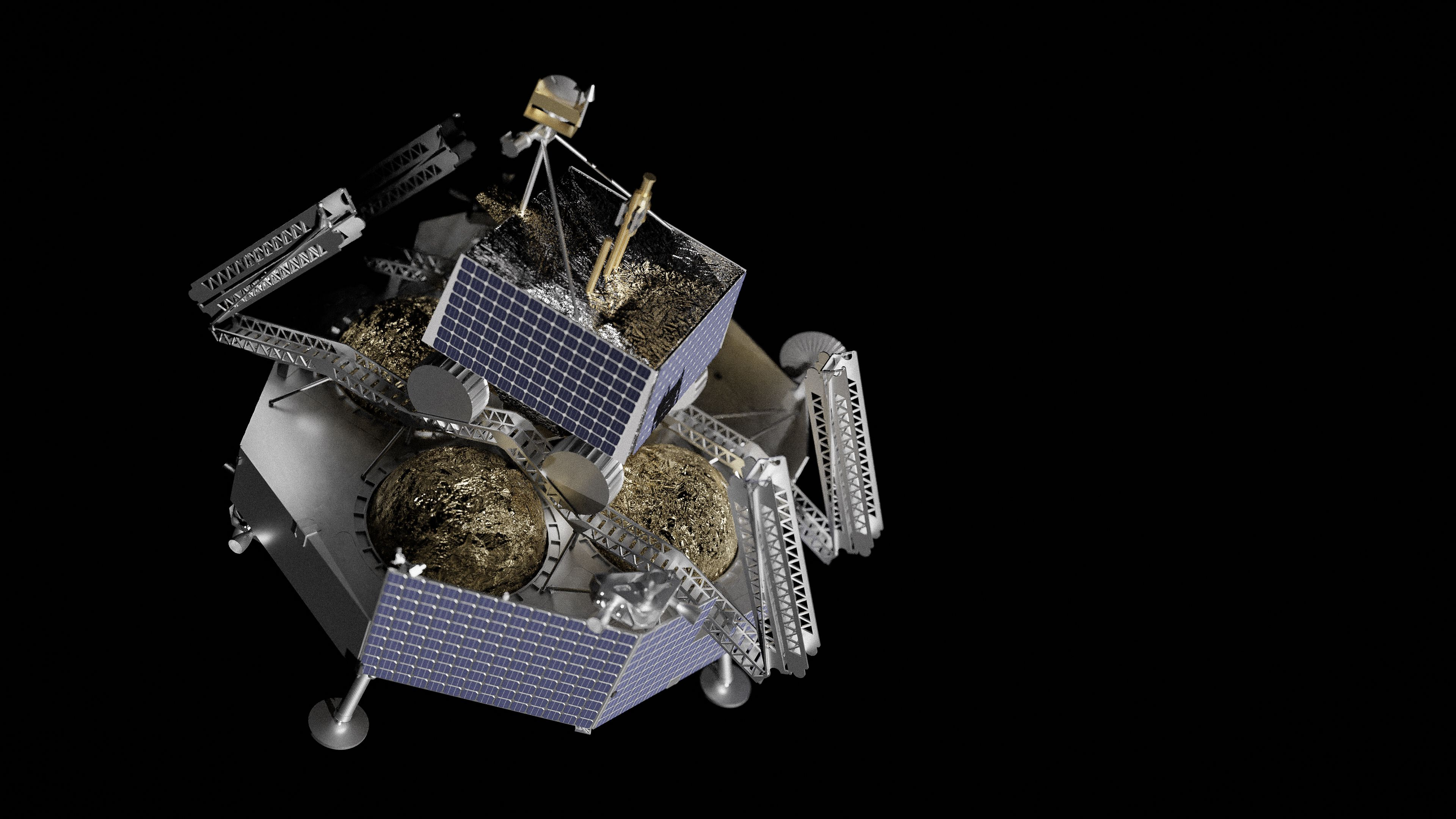 Griffin Lander To Ferry NASA's Lunar Rover