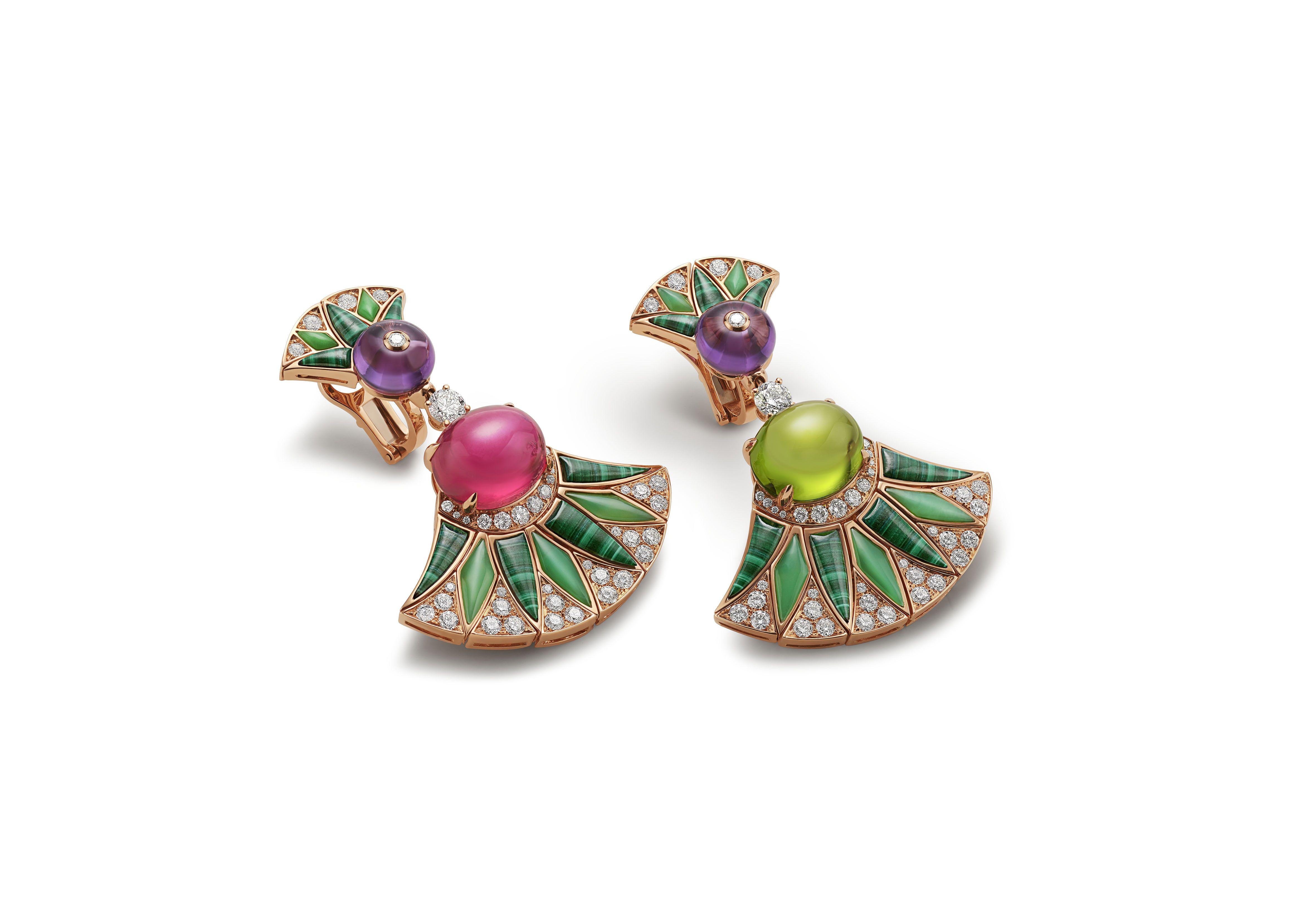 bulgari barocko earrings