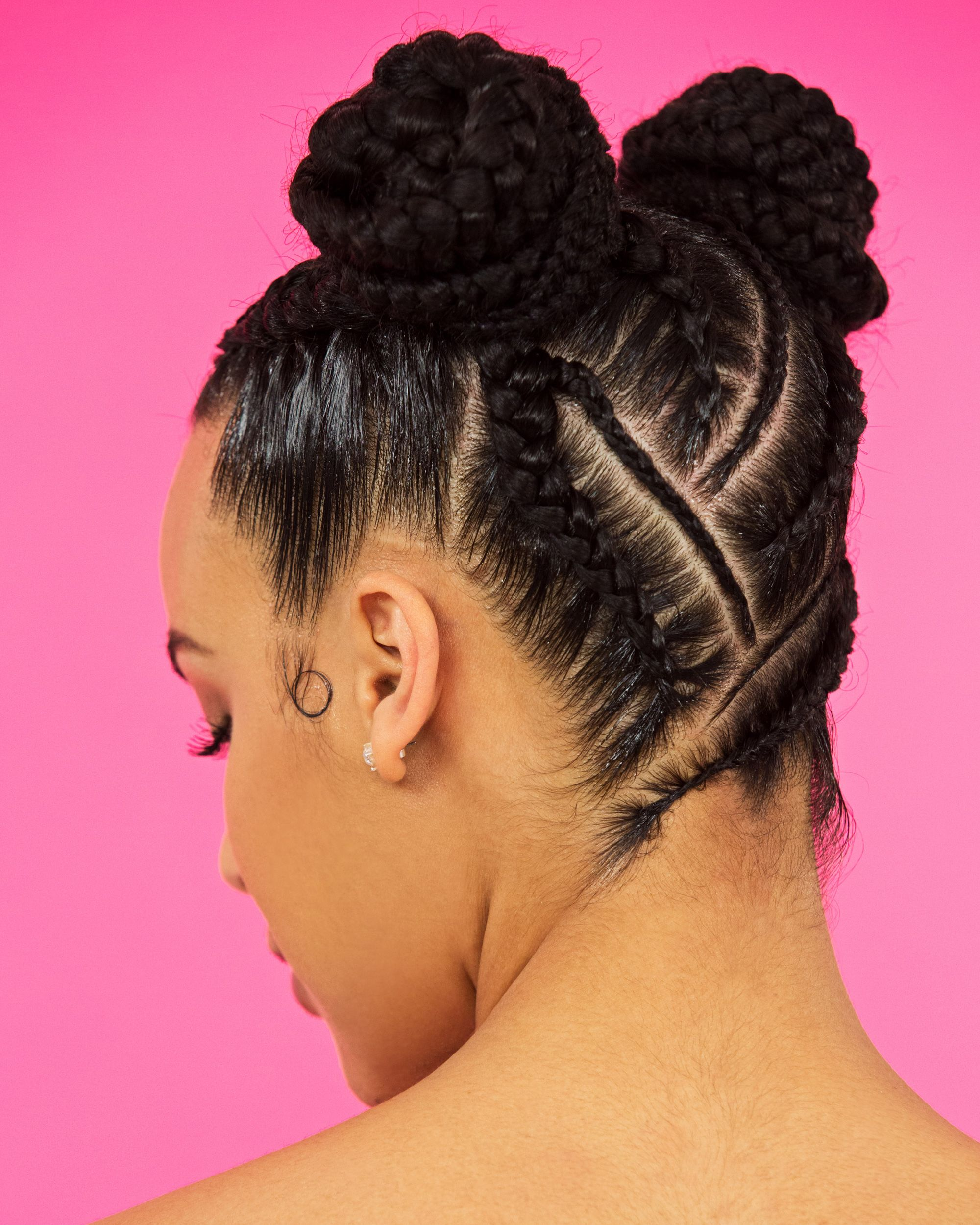 4 Natural Hair Braid Styles Bantu Knots Box Braids And