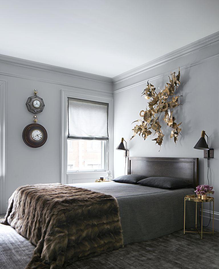 42 Minimalist Bedroom Decor Ideas - Modern Designs for ... on Minimalist Modern Simple Bedroom Design  id=30694