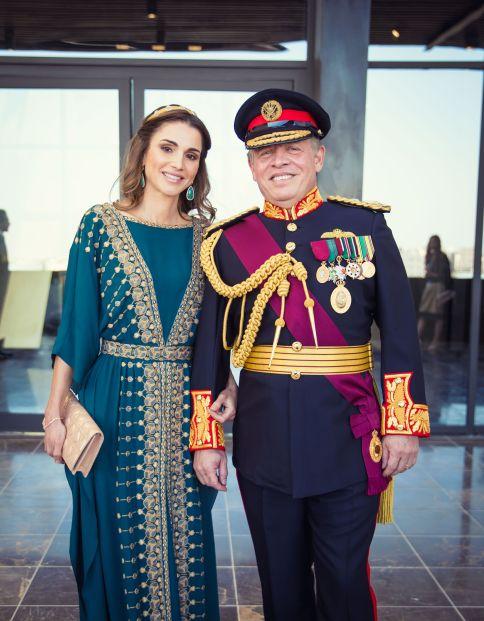 Perempuan biasa menikahi anggota keluarga kerajaan: Rania Al-Yassin.
