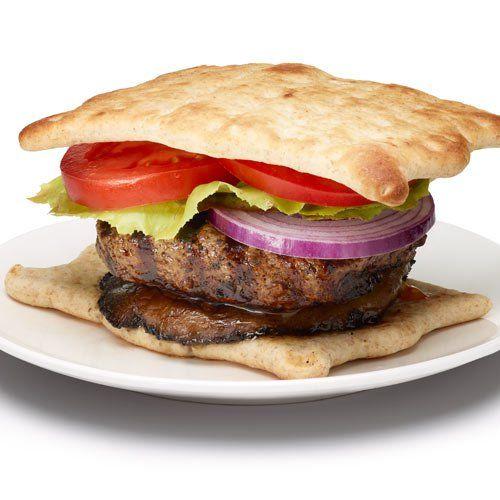 Mushroom Bison Burger