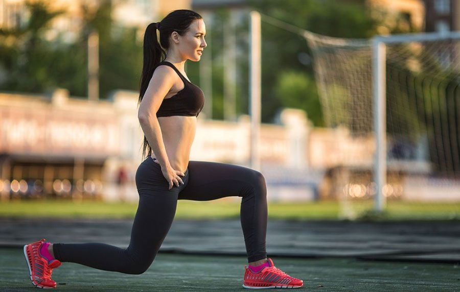 Split squat leg workout