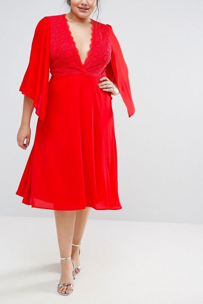 Image result for african girl red midi dress for graduation