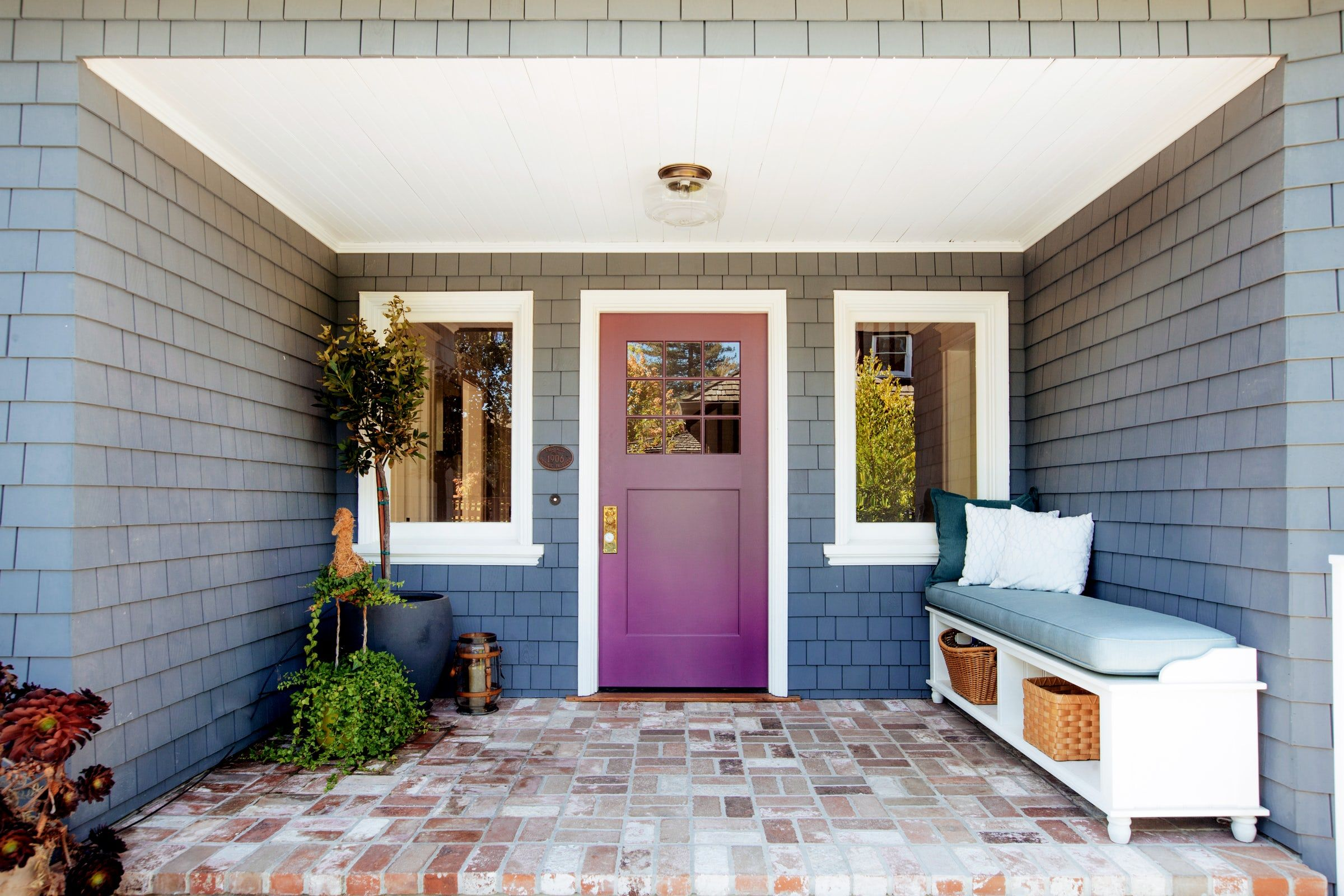 20 Fun Front Door Colors - Paint Ideas for Your House's ... on Door Color Ideas  id=94337