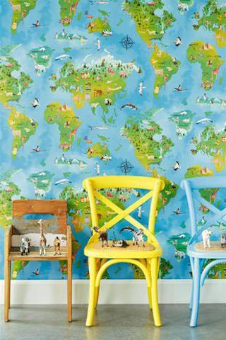 carta da parati per bambini di murals wallpaper. Le Piu Belle Carte Da Parati Per La Camera Dei Bambini Marieclaire