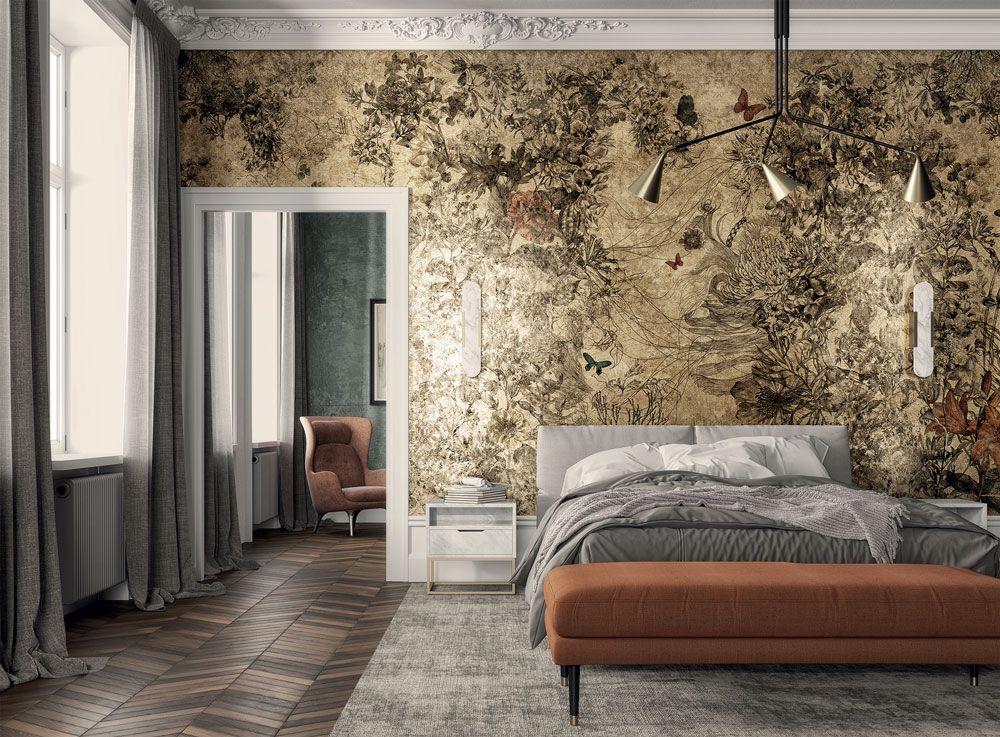 Una collezione semplice ma allo. Goldenwall 2020 Le Nuove Carte Da Parati Di Inkiostro Bianco