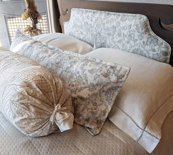 standard euro boudoir and lumbar pillows