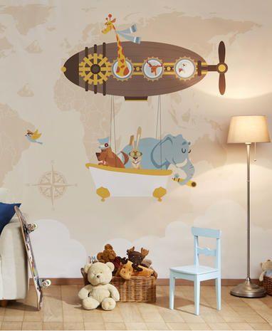 Questa caratteristica la rende ideale per stanze in cui le pareti hanno una maggiore possibilità di macchiarsi, come una cucina, una sala da pranzo o una stanza per bambini. Le Piu Belle Carte Da Parati Per La Camera Dei Bambini Marieclaire