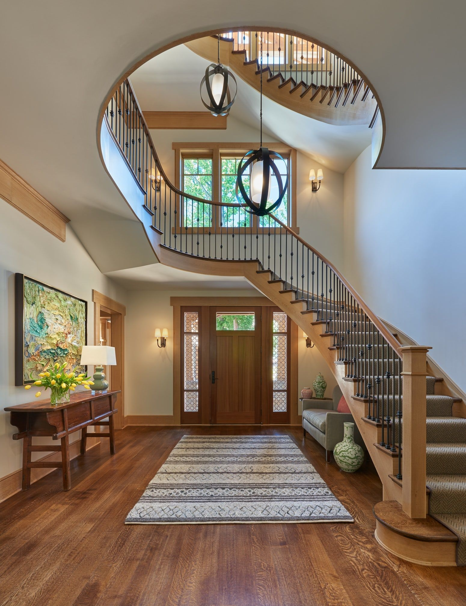 25 Stunning Carpeted Staircase Ideas Most Beautiful Staircase | Designer Carpet For Stairs | Stair Railing | Victorian | Flower Design | Treads | American Style