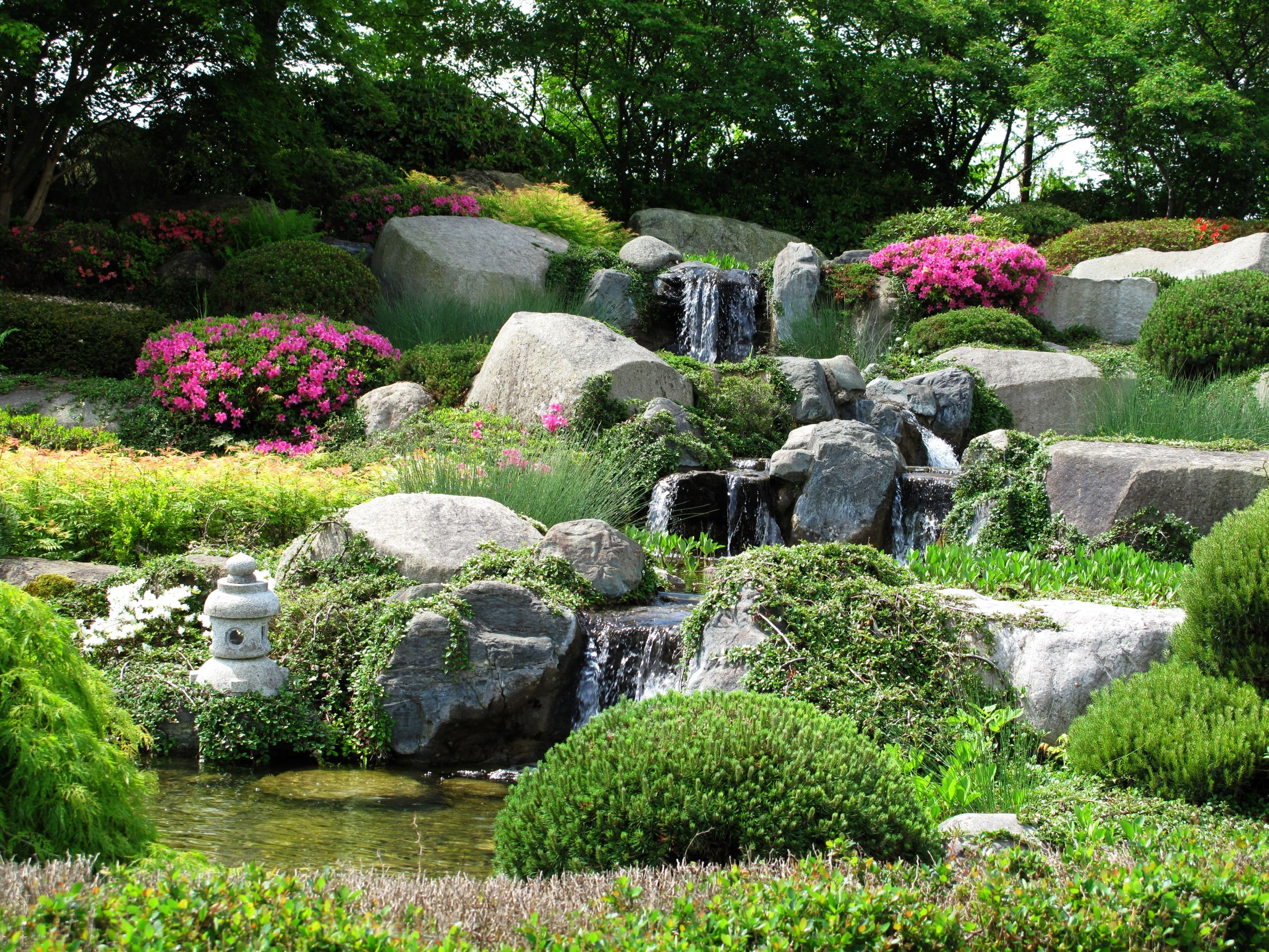 7 Tranquil Rock Garden Ideas Beautiful Rock Landscaping Ideas