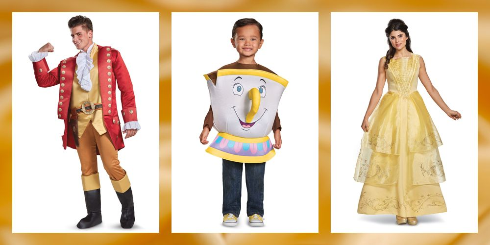 12 Beauty The Beast Costumes For Adults Kids On Halloween 2018