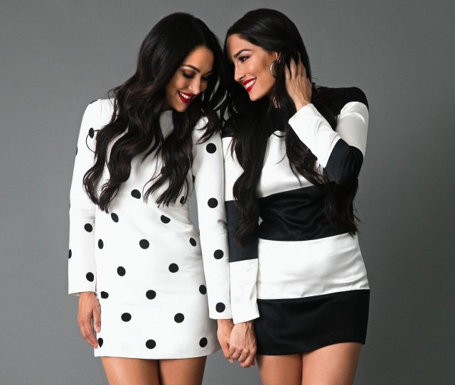 Wwe Superstars Nikki And Brie Bella On Wwes Evolution That John Cena Breakup And Living Their Best Crazy Successful Lives Bella Twins Interview