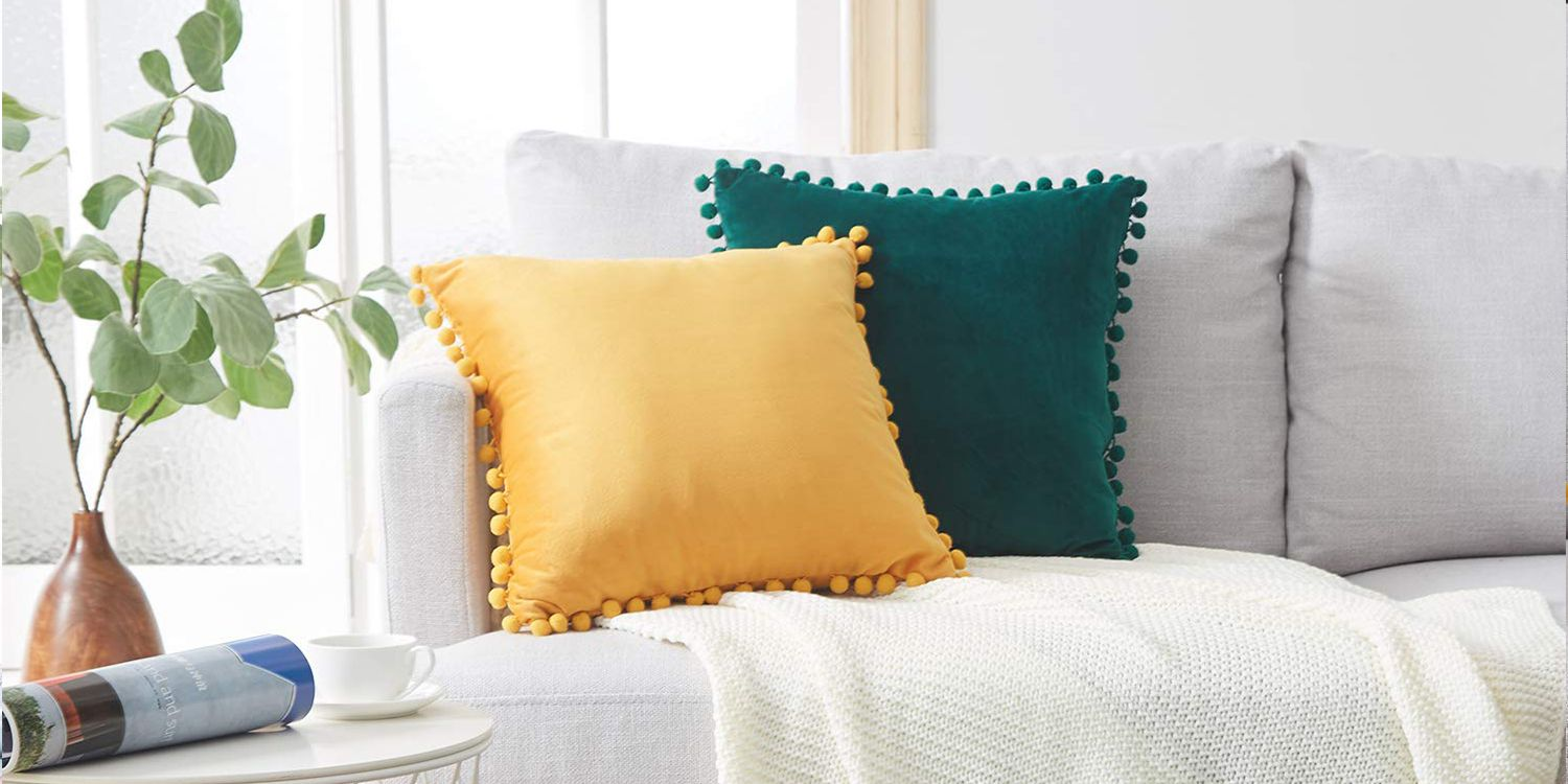 The 15 Best Throw Pillows You Can Buy On Amazon 2019