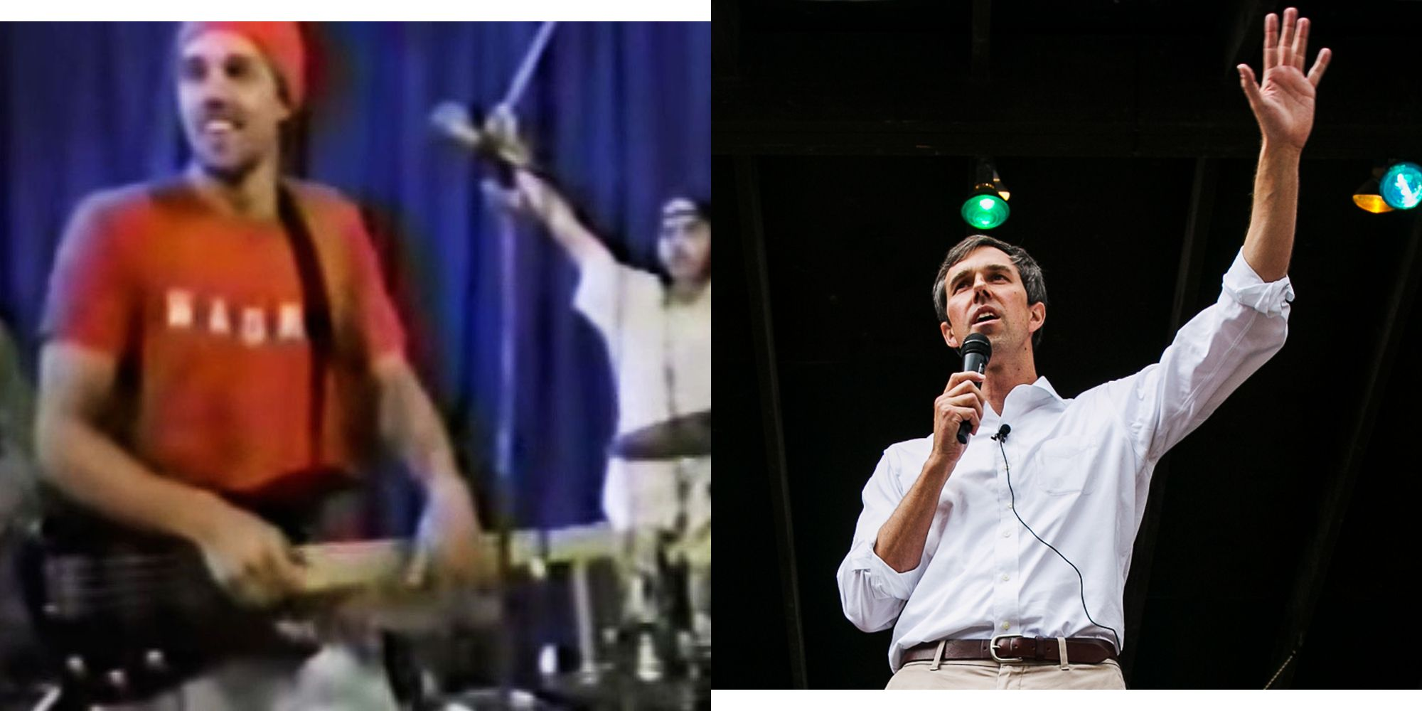 Beto ORourke Band Video I Would Absolutely Mosh For