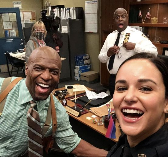 A photo of Brooklyn Nine-Nine confirms that filming for Season 8 has begun