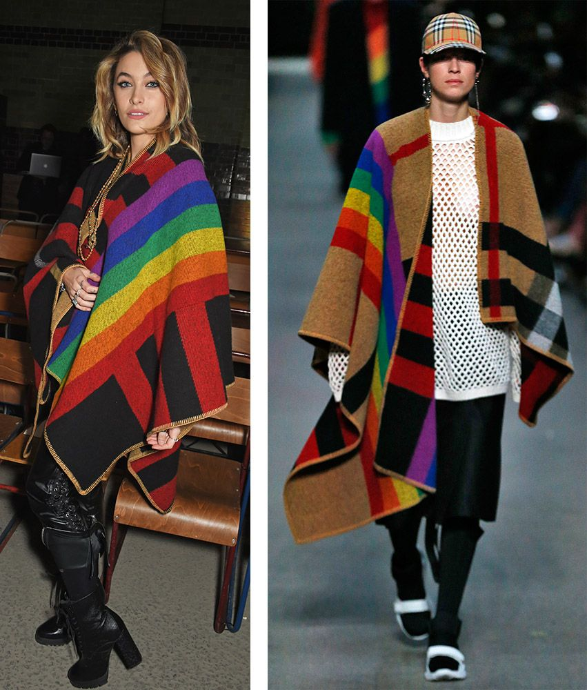 Paris Jackson Burberry