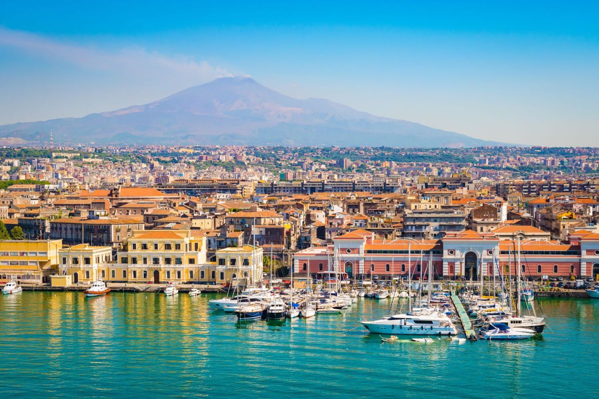 Catania Sicília, Itália