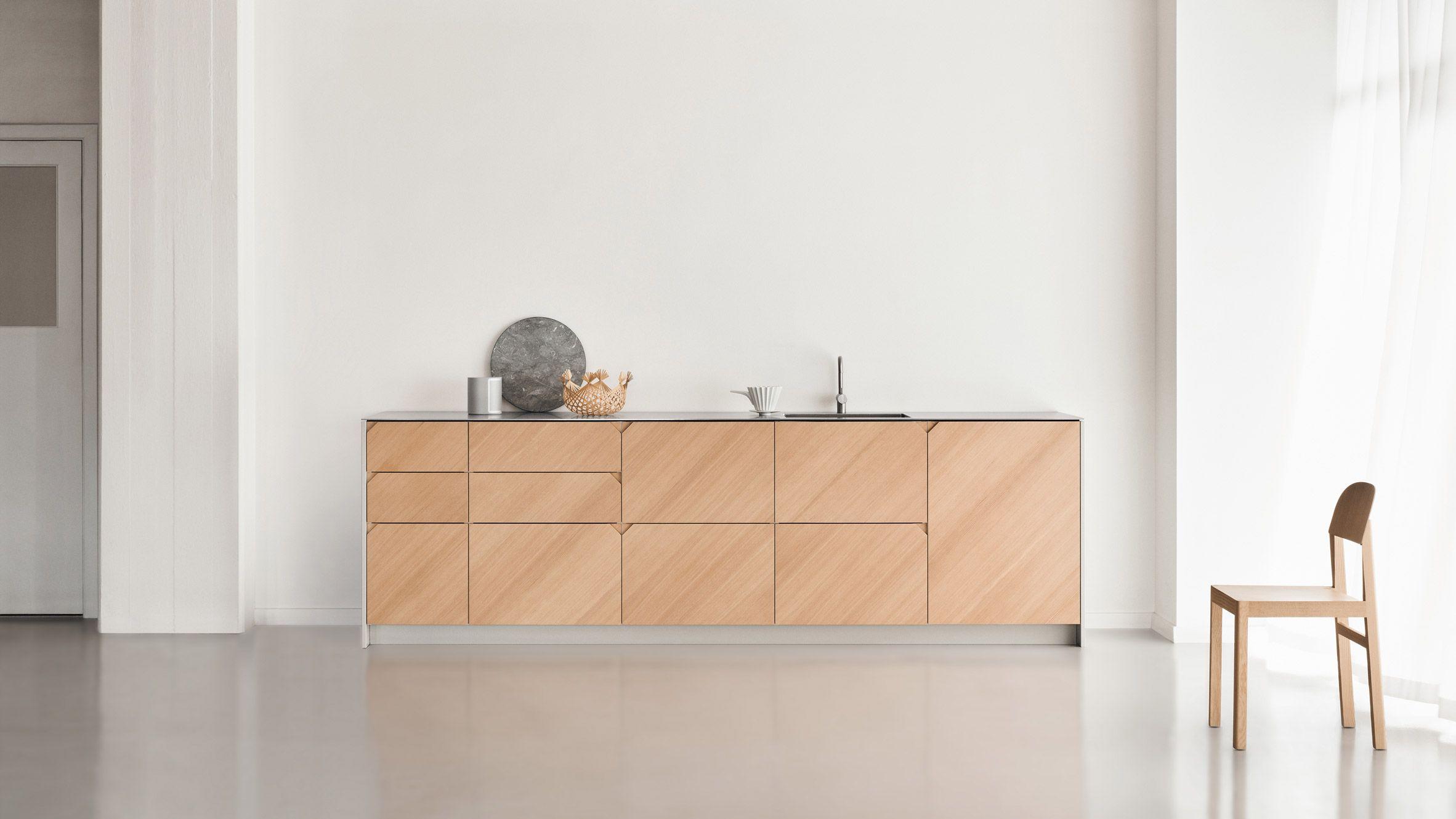 Gli Armadi Ikea Metod Diventano Una Cucina Progettata Da